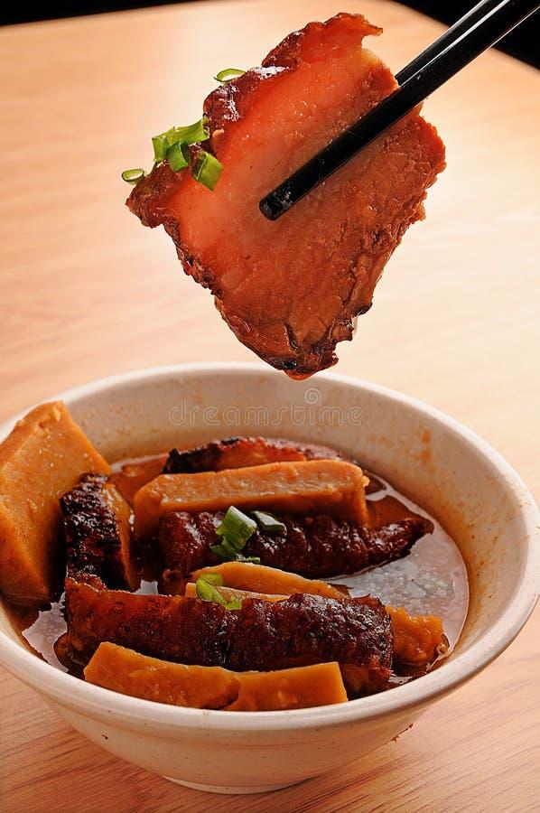 Varkensvlees stock foto