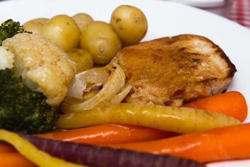 Varkensvlees escalope stock fotografie