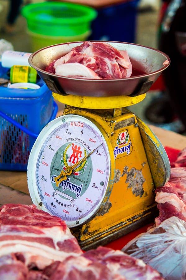 Varkensvlees per saldo stock afbeeldingen
