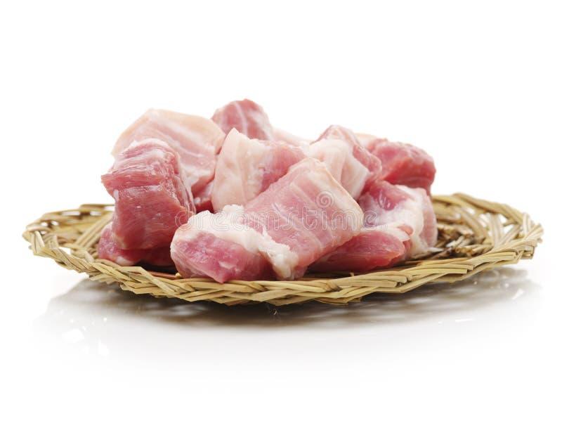 Varkensvleesbuik royalty-vrije stock afbeeldingen