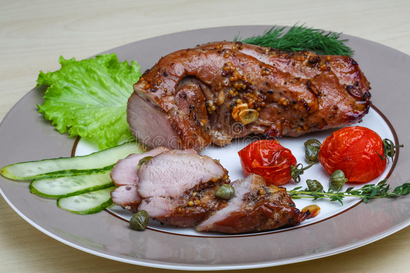 Varkensvleestenderlion stock foto