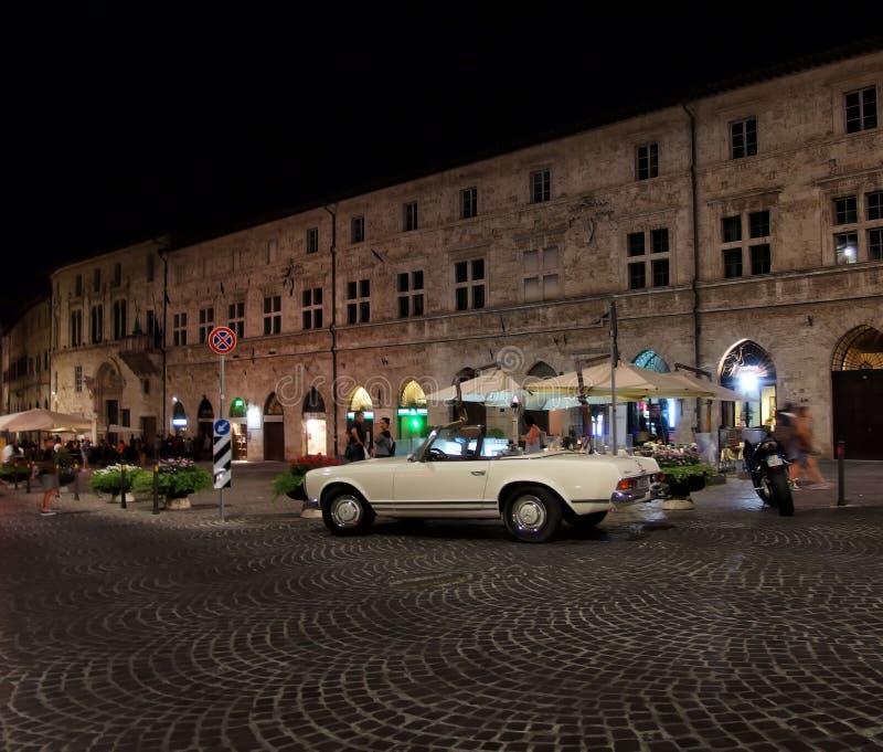 Varm afton i Italien arkivfoton