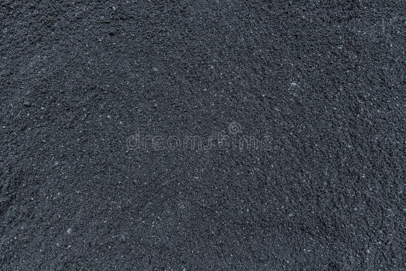 Varm asfaltbetong inte under kompression ännu fotografering för bildbyråer