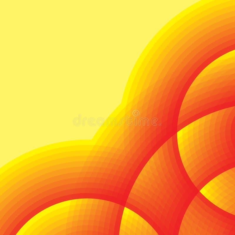 varm bakgrund vektor illustrationer