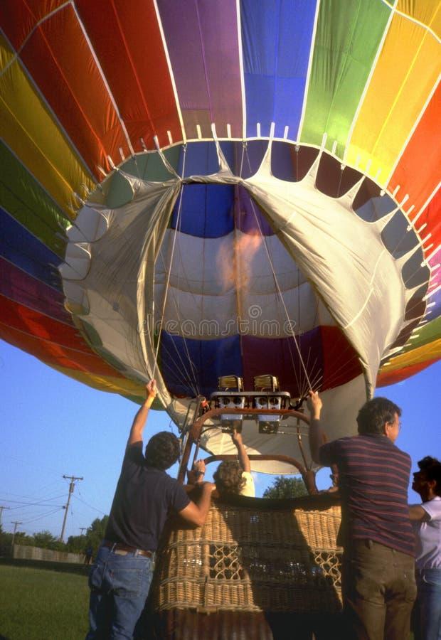 varm ballong för luft 2 royaltyfria bilder