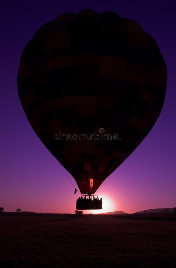 varm elevator för luftballong av arkivfoton
