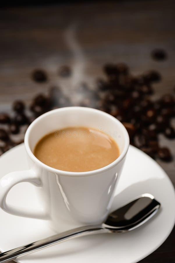 varm kaffeespresso arkivfoto