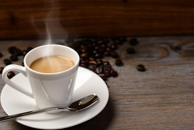 varm kaffeespresso royaltyfri foto