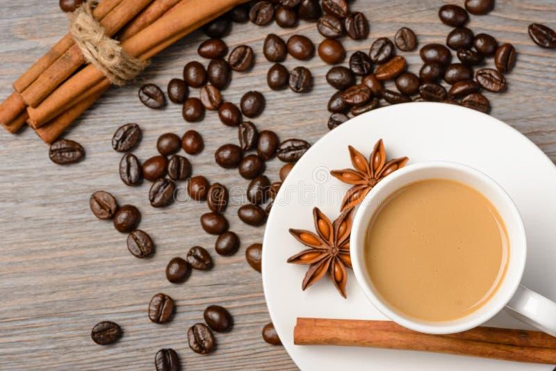 varm kaffeespresso royaltyfria foton
