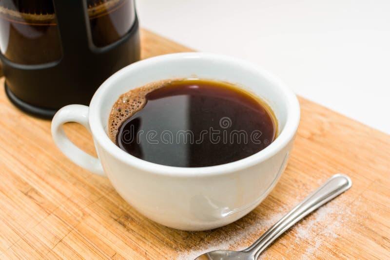 varm kaffekopp arkivfoton