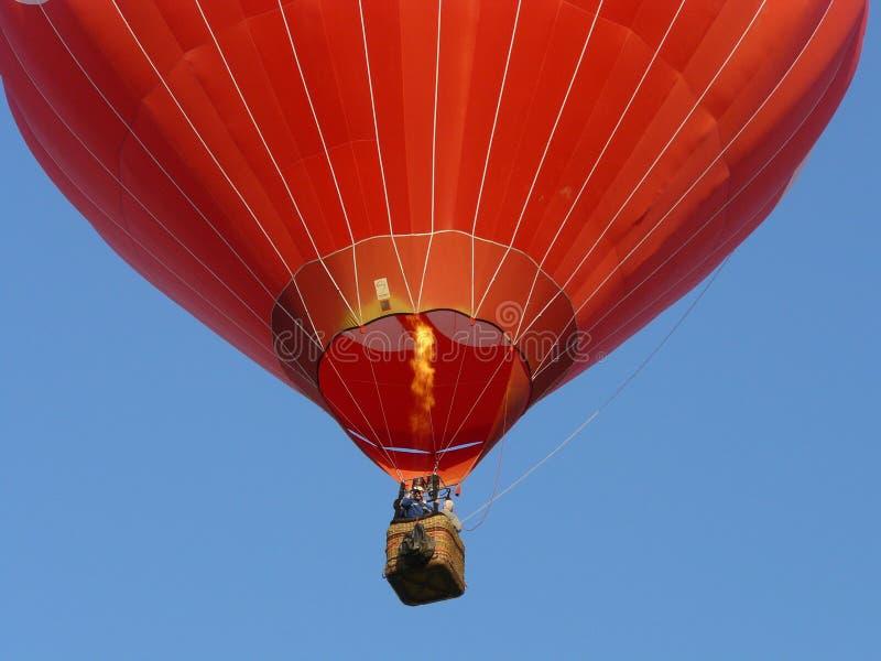 varm luftballon royaltyfri bild