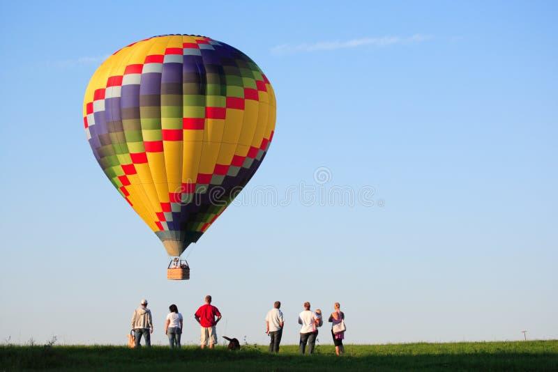varm luftballong