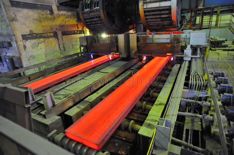 varm metall för cuttinggas arkivfoto