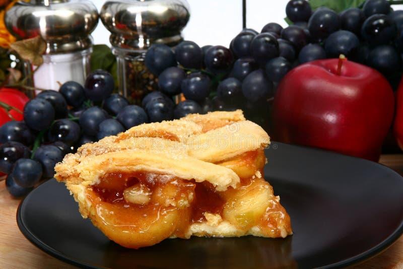 varm pie för äpple arkivbild