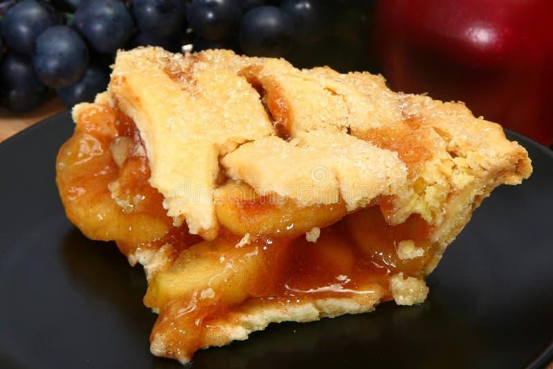 varm pie för äpple royaltyfri bild