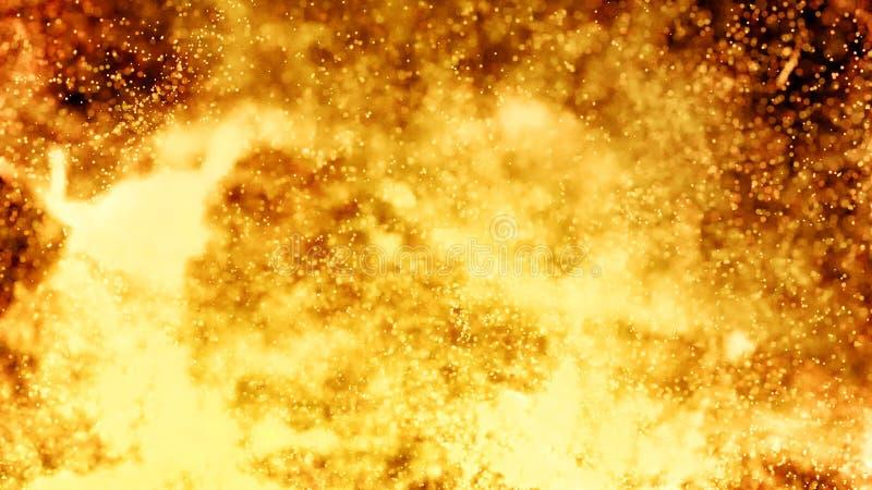 Varm vulkanisk Magma, Lava Background fotografering för bildbyråer