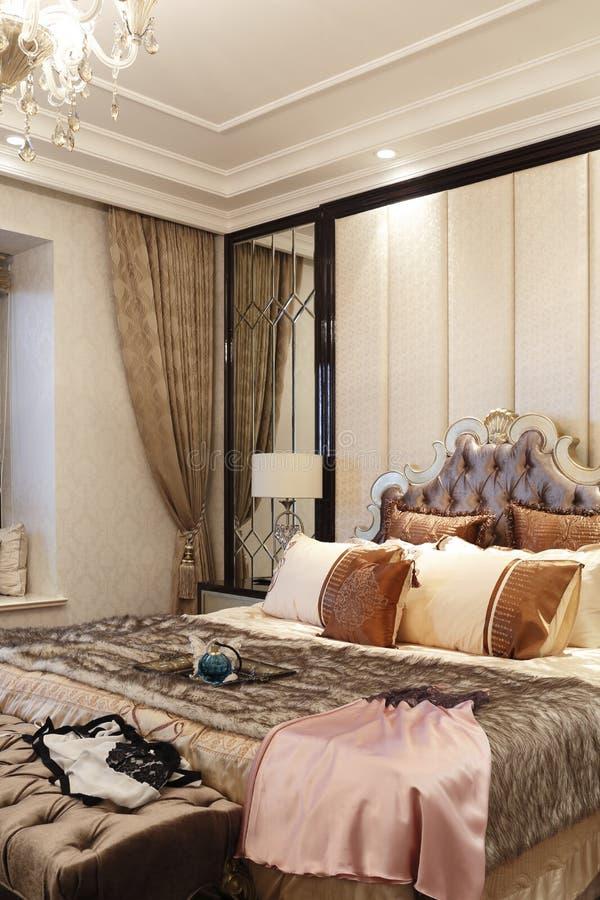 varmt sovrum fotografering för bildbyråer