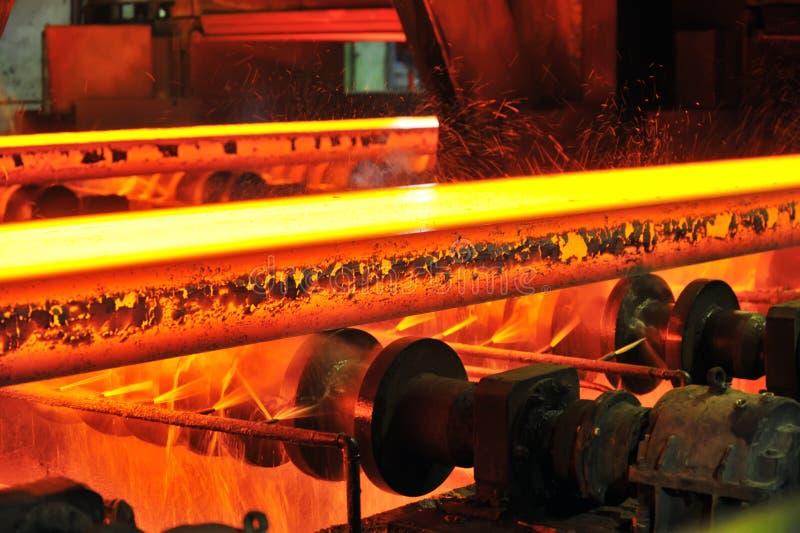 varmt stål för transportör arkivfoton