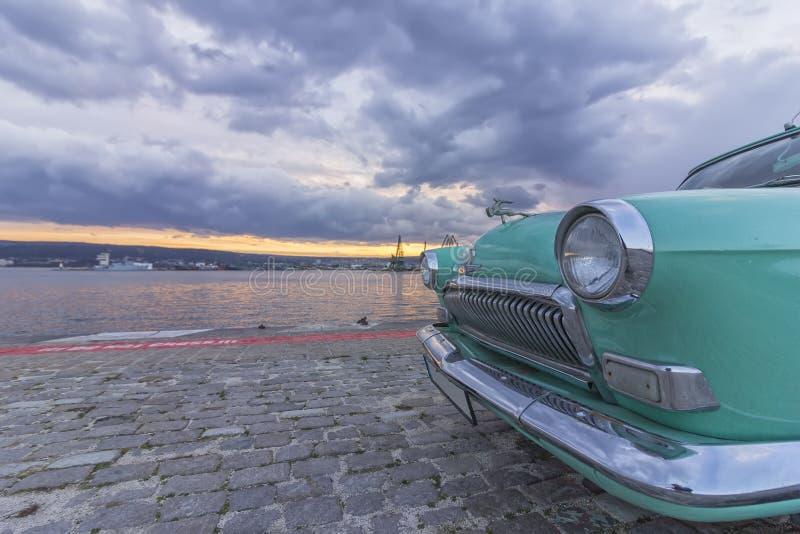 Varna, Bulgaria - 19 march 2017: Soviet retro car GAZ-21 stock photo