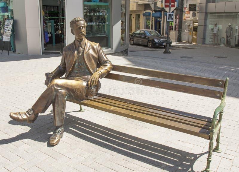 VARNA, BULGARIE - 2 MAI 2017 : Monument au citoyen de ville, photo libre de droits