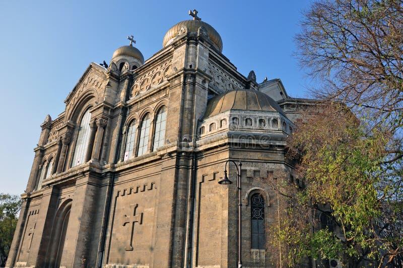 Varna Cathedral Royalty Free Stock Photo
