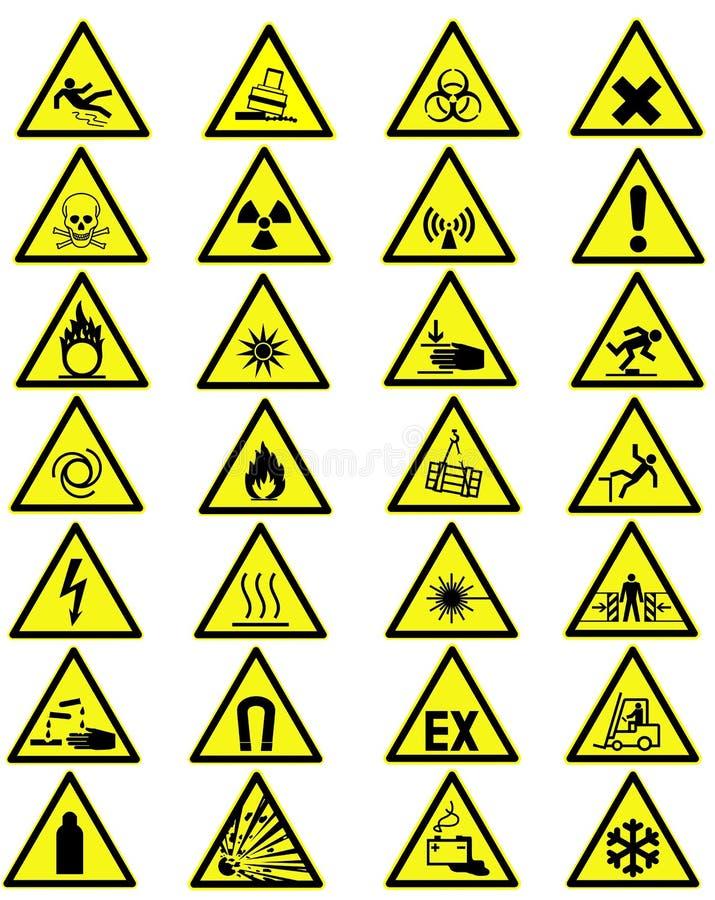 varna för tecken royaltyfri illustrationer