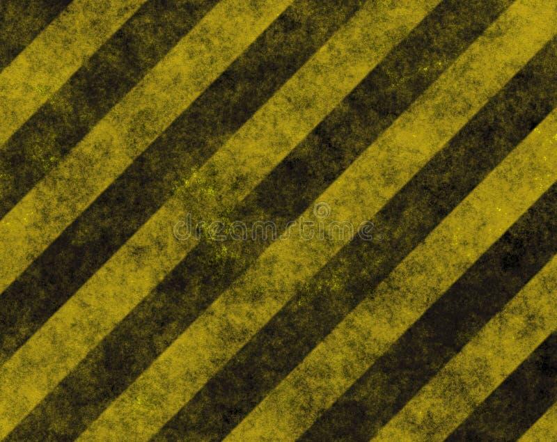 varning för väg för bakgrundsfarafara stock illustrationer