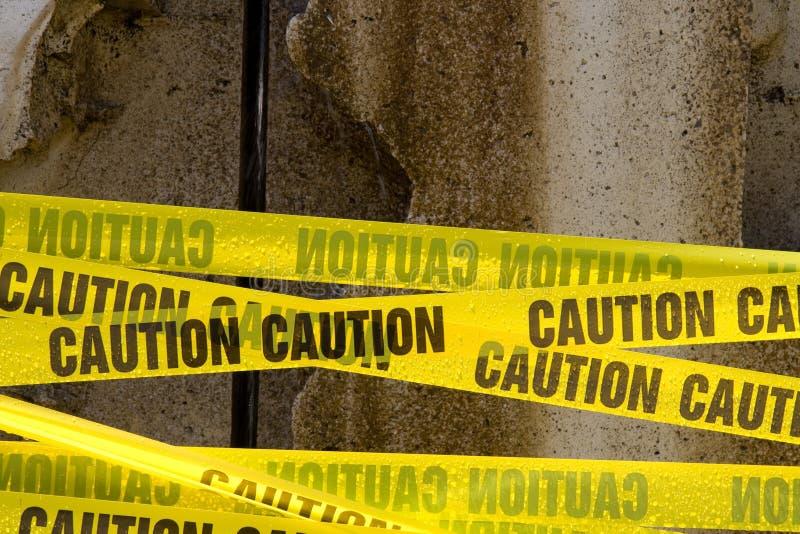 varningsband fotografering för bildbyråer