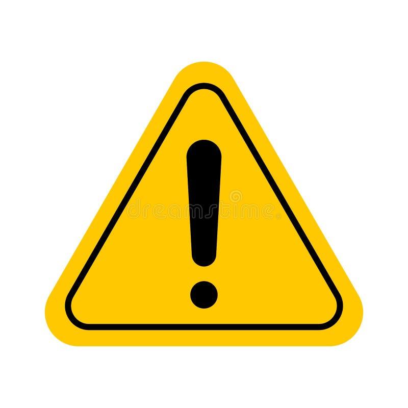 Varningsskylt eller ikon arkivbilder