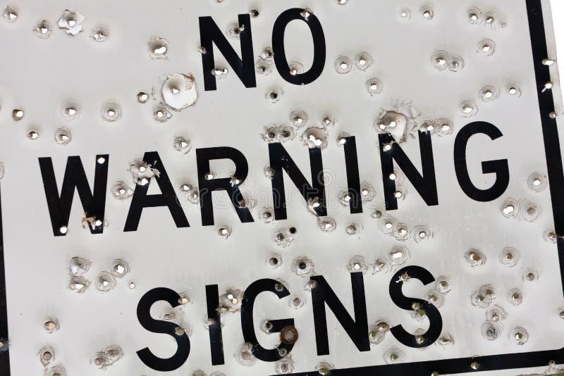Varningstecken royaltyfria bilder