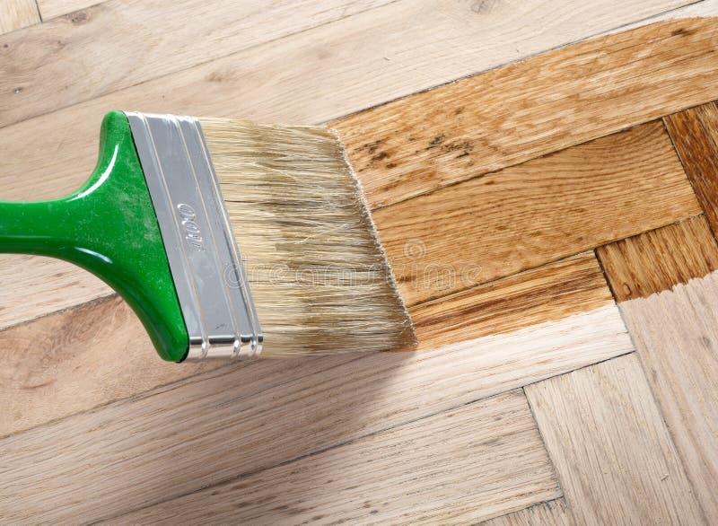 Varnish Brush Stock Photos
