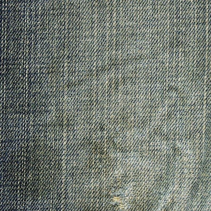 Textura da tela da sarja de Nimes - gastada fotos de stock royalty free