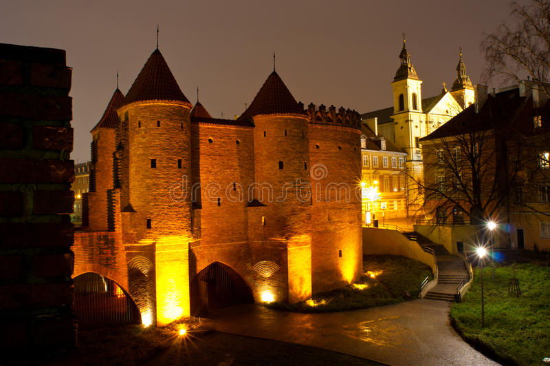 Varsóvia foto de stock