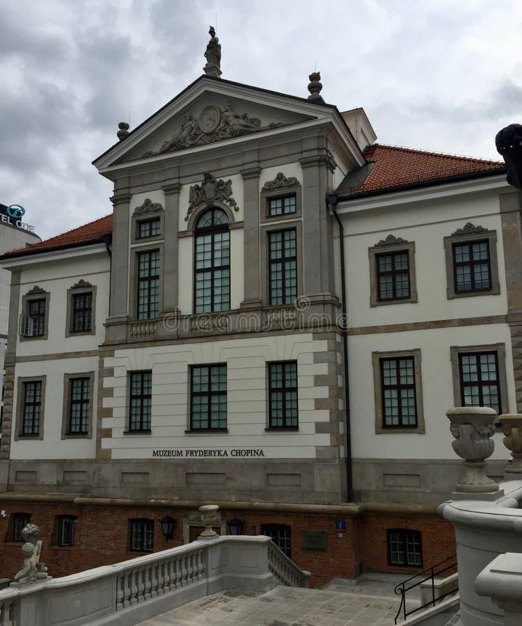 Varsóvia, Polônia, Fryderyk Chopin Museum imagens de stock royalty free