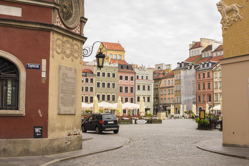 Varsóvia, Polônia fotografia de stock royalty free