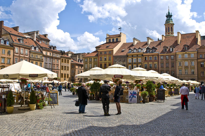 Varsavia fotografia stock libera da diritti