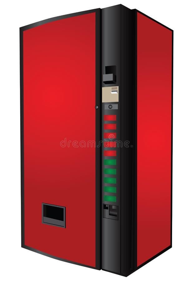 Varuautomat stock illustrationer