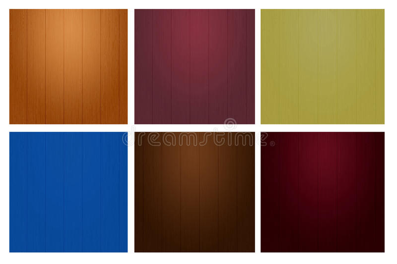 Download Vary Color  Wood Wall Texture Stock Illustration - Image: 42120418