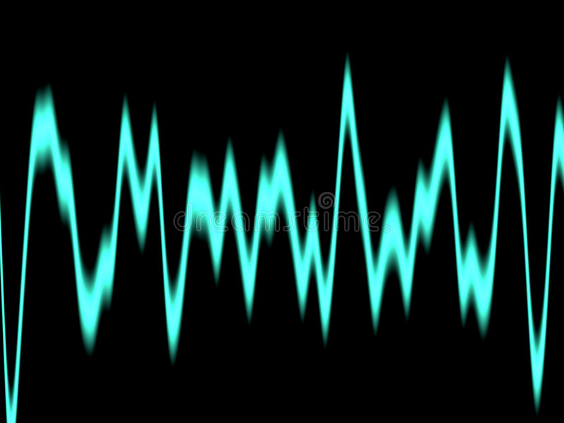 Download Varying wave stock illustration. Image of technologies, wave - 74045