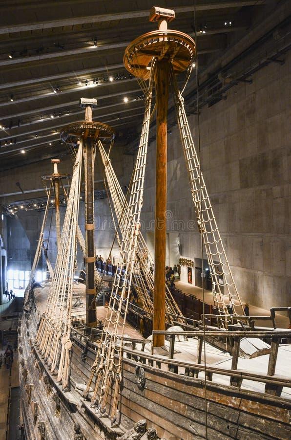 Vasa грузят музей, Стокгольм, Швецию стоковое фото