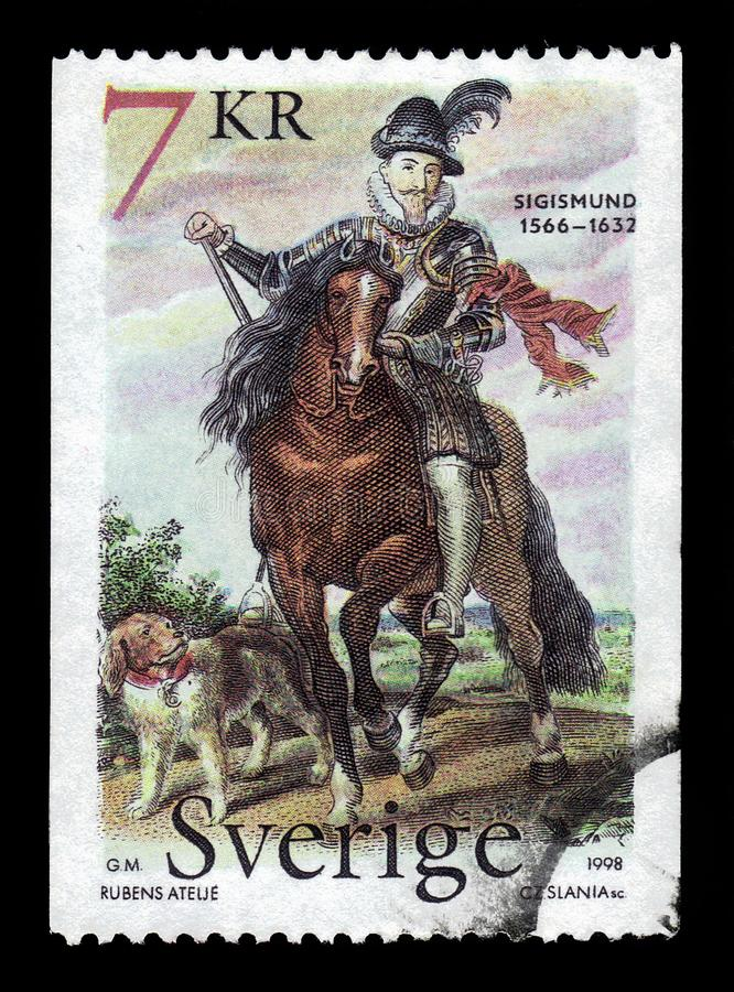 Vasa Sigismund III, König von Schweden lizenzfreies stockbild