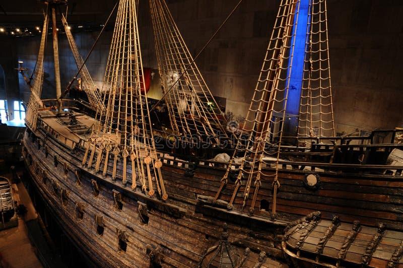 Vasamuseum i Stockholm arkivbilder