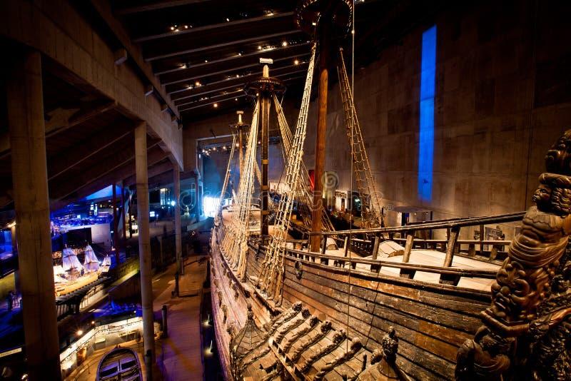 Vasamuseum i Stockholm, Sverige royaltyfri bild