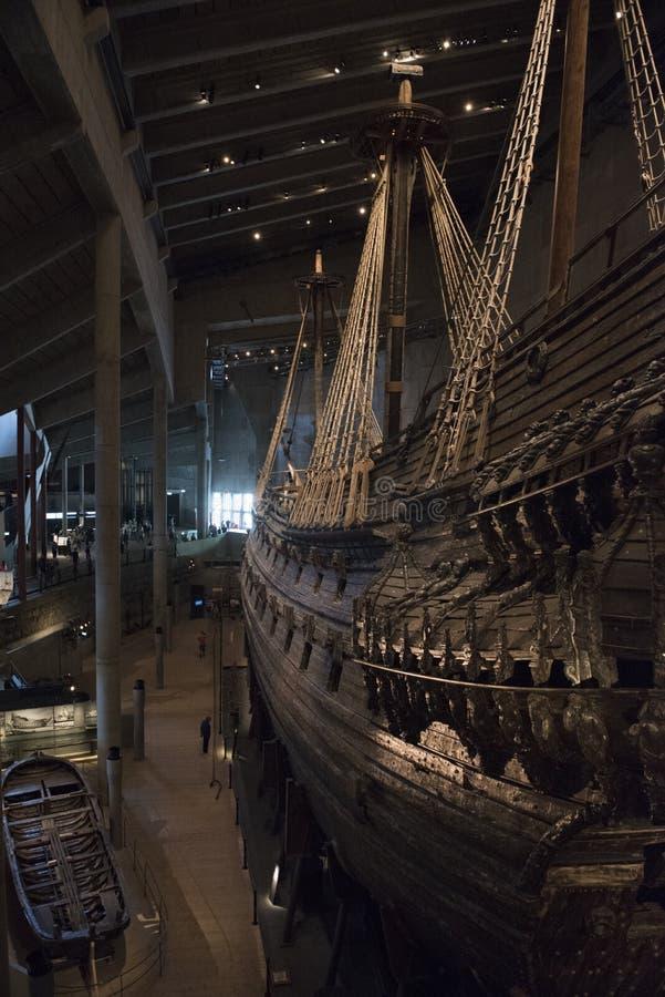 Vasamuseum Stockholm royaltyfri foto