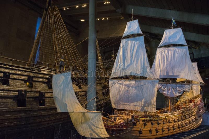 Vasamuseum Stockholm royaltyfria bilder