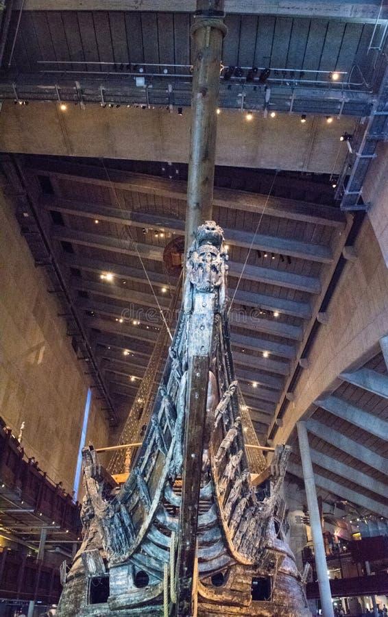 Vasamuseum Stockholm arkivfoton