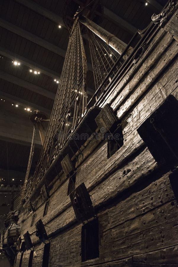 Vasamuseum Stockholm fotografering för bildbyråer