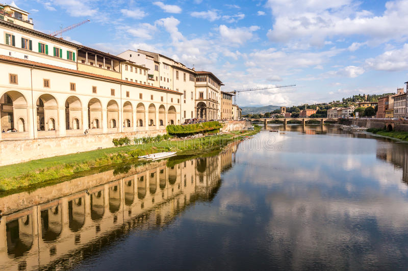 Download Vasari Corridor In Florence, Italy Stock Photo - Image: 83713776