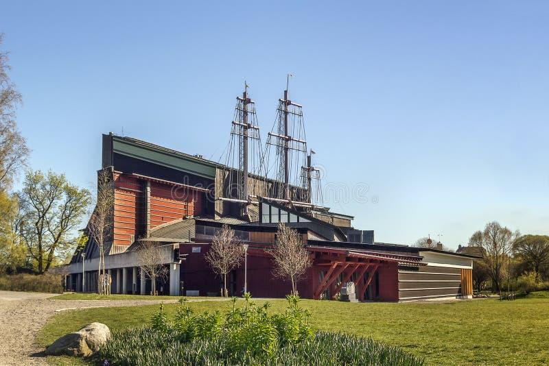 Vasaskeppmuseum, Stockholm royaltyfria foton