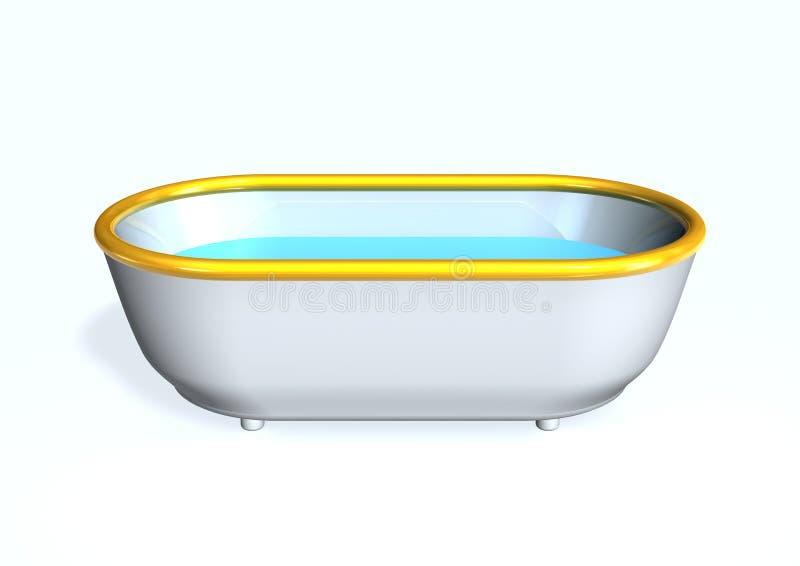 Vasca da bagno royalty illustrazione gratis